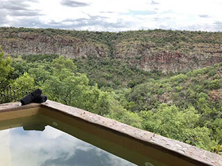 Swimming Pool Mountain View from The Swimming Pool Openness Leopards Rock Bush Boutique