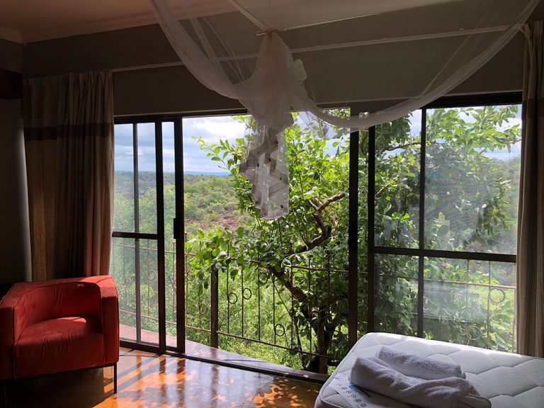 Valley View from Bedroom ONEness Leopards Rock Bush Boutique